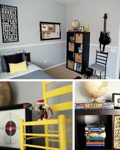 FABULOUS by design: Boys Tween Bedroom!