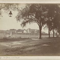 Fort Rotterdam in Makassar, Woodbury & Page, c. 1850 - c. 1880 - Rijksmuseum