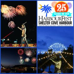 HarbourFest fireworks at Shelter Cove Harbour, a Hilton Head Island summer tradition