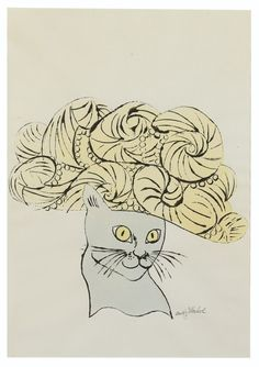 Untitled (Cat in Hat)