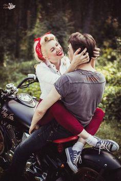 #Rockabilly #love <3 #motorcycle