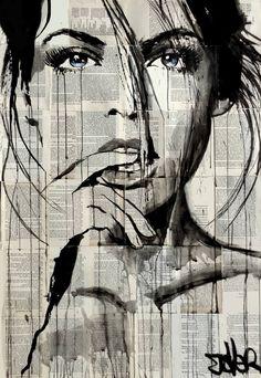 "Saatchi Art Artist Loui Jover; Drawing, ""quiver"" #art"