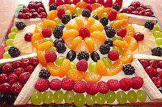 Obstgarten (Rezept mit Bild) von backhexe68 | Chefkoch.de Soul Food, Fruit Salad, Goodies, Sweets, Desserts, Blitz, Ideas Para, Decorating Ideas, Cakes