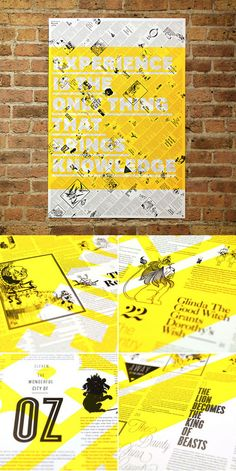 Brandt Brinkerhoff & Katherine Walker col­lab­o­rated on this poster series based on the orig­i­nal text and etch­ings from clas­sic children's sto­ries.