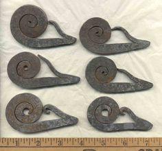 Scottish style flint strikers - Historic Iron Work - Gallery - I Forge Iron