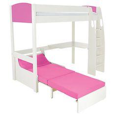 kinderzimmer f r m dchen rote matratze hochbett design vorschl ge kinderzimmerideen pinterest. Black Bedroom Furniture Sets. Home Design Ideas
