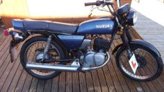 1985 SUZUKI GP 125 2 STROKE.125CC.ALL THERE IDEAL RESTORATION PROGECT,RARE NOW | eBay £495