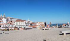 Miradouro das Portas do Sol, Alfama, Lisboa