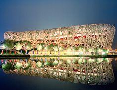 Nationalstadion in Peking / Herzog & de Meuron / Our Client:       ww.dlw.eu   (DLW Linoleum) / Fotos: Werner Huthmacher / via http://armstrong.baunetz.de