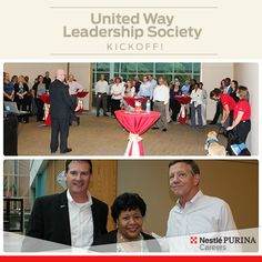 In honor of our annual United Way of Greater St. Louis Campaign, we kicked it off in great company with the UW Leadership Society and representatives and dogs from Support Dogs. Stay tuned for the buzz of the big campaign on October 23rd!