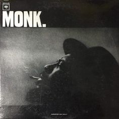 MONK. with a period has a beautiful, atmospheric front cover.