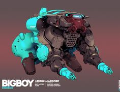 ArtStation - Big Boy - Block 1 and 2, Brian Sum