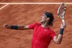 Rafael Nadal sera en finale dimanche à Roland Garros.  http://www.rolandgarros.com/fr_FR/index.html