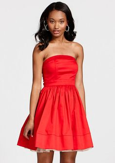 dELiAs > Full Skirt Strapless Dress > clearance > summer clearance > dresses
