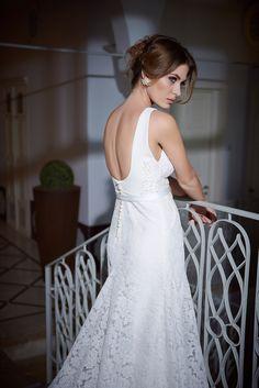 Lace Wedding dress by Arava Polak