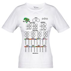 WM Spielplan T-Shirt - Frauen