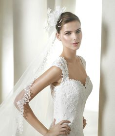Style * HALSEY * » Wedding Dresses » Fashion 2015 Collection » by San Patrick (close up)