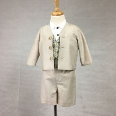Boys  summer suit by JaniceCollierDesigns on Etsy