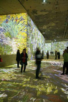 #Dataton's WATCHOUT #Audiovisual Technology at Carrières de Lumières' #Art Show