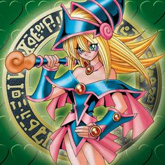 Card Name: Dark Magician Girl Card Name (JP): ブラック・マジシャン・ガール Attribute: Dark Level: 6 Type: Spellcaster Card Type: Effect Monster ATK: 2000 DEF: 1700  http://www.yugioh.com/cards/dark-magician-girl