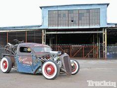 The Baddest Hot Rods Online! Hot Rod Trucks, Cool Trucks, Cool Cars, Rat Rod Pickup, Pickup Trucks, Hot Rods, Us Cars, Classic Trucks, Classic Cars