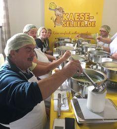 Käse selber machen in Lauben / Allgäu Käseseminar Käsekurs Käseschule