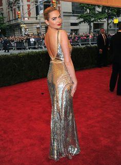 Kate Upton at the Met Gala 2012 #style #redcarpet #harpersbazaar #fashion #partysnaps #kateupton
