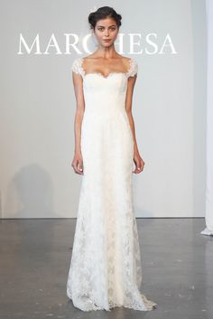 Marchesa Bridal Novias. Primavera 2015 (New York Bridal Week)