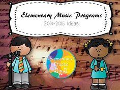 Elementary Etudes: Elementary Music Programs 14/15