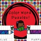 I would print these on card stock and laminate them to use over and over again.  These would be great to use as a reading or math center color words puzzles word sight words kindergarten pre k first grade