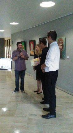 Expo en UP #ScottNeri www.scottneri.com #arte #yoartista #ElArteDelImaginista #ScottNeriElArteDelImaginista #art #mexicanart