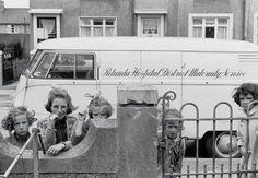 Irish children by the late mid-century photographer, Marvin Koner Images Of Ireland, Ireland Homes, Cool Vans, Dublin City, Old Photos, Vintage Photos, Dublin Ireland, Photographic Prints, Historical Photos