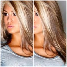 hair highlights ! I think I'm gonna go with this color :) ☺