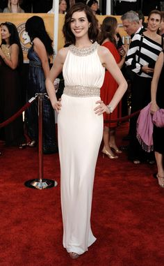 White Hot from Anne Hathaway's Best Looks | E! Online
