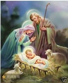The Nativity of Baby Jesus Christ The Lord! Jesus, Mary and Joseph! The Holy Family! Jesus, Lord at Thy Birth! Unto us a Child is Born! Holy Trinity, Father Son and Holy Spirit, The Holy Family! Christmas Nativity Scene, Christmas Scenes, Christmas Art, Christmas Greetings, Vintage Christmas, Christian Images, Mary And Jesus, Jesus Pictures, Catholic Art