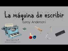 """""""La máquina de escribir"""" - Leroy Anderson (instrumentos escolares) - YouTube Teaching Music, Listening To Music, Polka Music, Cup Games, Music Worksheets, Folk Dance, Instruments, Music Classroom, Music Lessons"""
