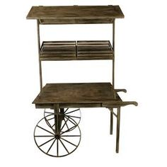 Augustus Plant Stand & Cart....great display for food items, dessert bar, etc.