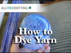 ★ Yarn Spinning Techniques   How to Spin & Dye Wool by Hand ★   hubpages