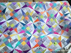 I previously posted about doing two sew alongs this year both involving a Kingwell: Flutterby by Jen Kingwell and Smitten by Lucy Carso...
