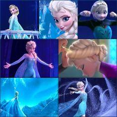 E for Elsa (of Arendelle)