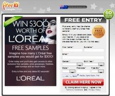 Win A LOreal Free Samples Worth Of $300
