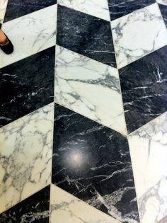 Marble Floor / Selfridges London