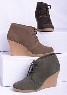 simple suede boots- this is my ideal shoe.
