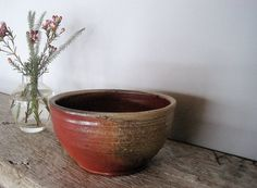 small woodfired bowl by DarlinCory on Etsy