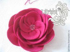 Tutorial felt flower