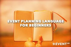 Are you baffled by event planning language, terminology and acronyms? This post is for you. A must read reference guide for all event professionals.