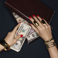 how to get a rich girl hand