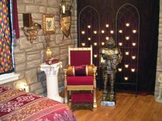 Castle themed room