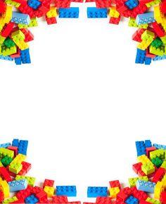 Fazendo sua festa Lego - papelaria para imprimir - Blog da Mãe Coruja
