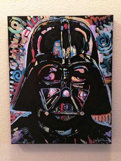 Star Wars Darth Vader by Matt Pecson CUSTOM Canvas by MattPecson